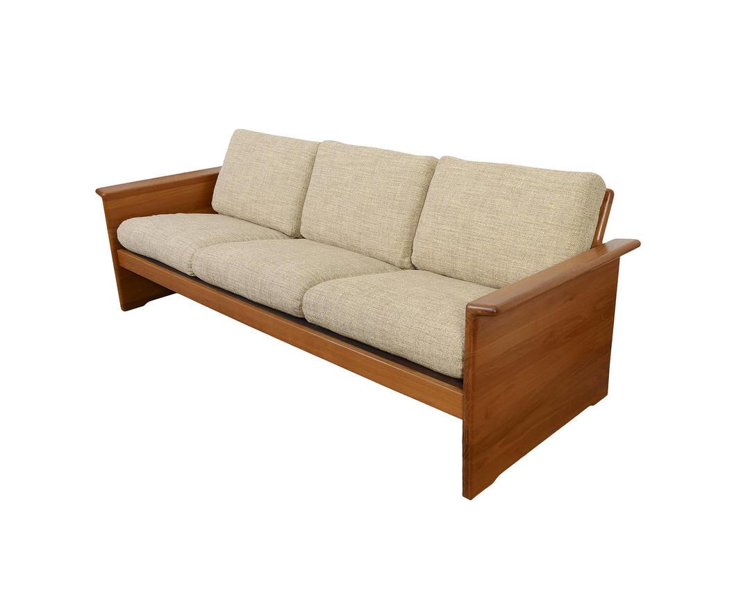 Tarm Stole Teak Sofa Mid Century Modern Danish Modern By