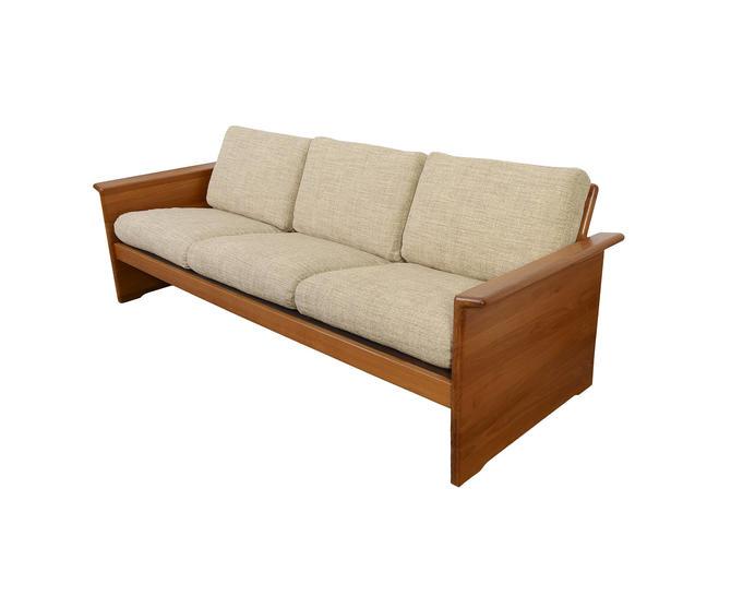 Tarm Stole Teak Sofa Mid Century Modern Danish Modern by HearthsideHome