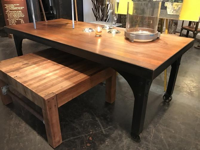 Fir Flooring Dining Table
