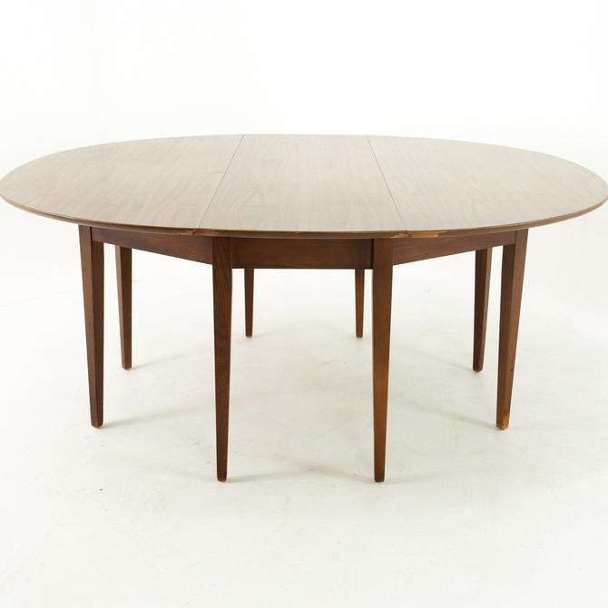 Mid Century Formica Top Drop Leaf Dining Table by ModernHill
