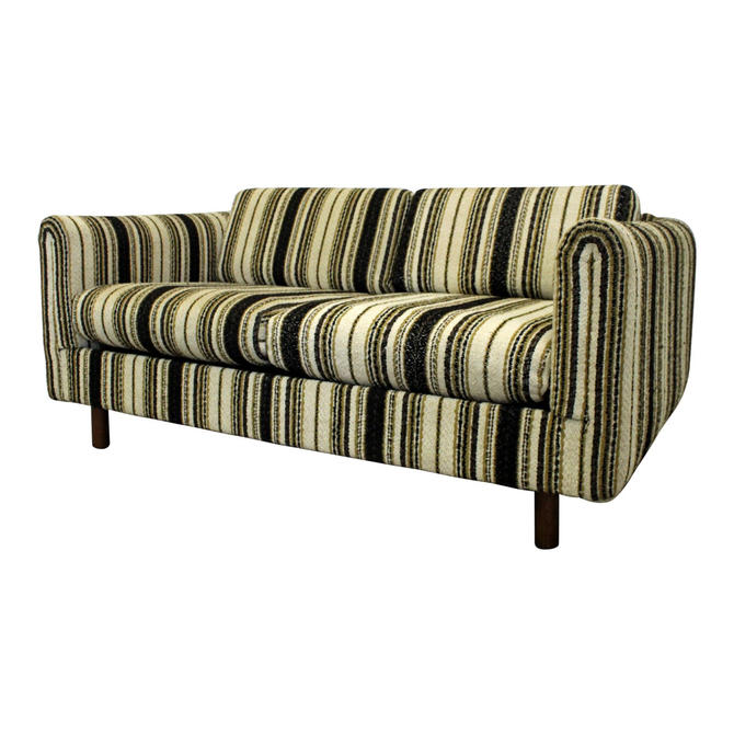 Mid-Century Modern Danish Selig of Monroe Loveseat Sofa by AnnexMarketplace