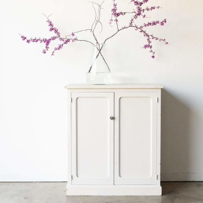 Petite White Cabinet