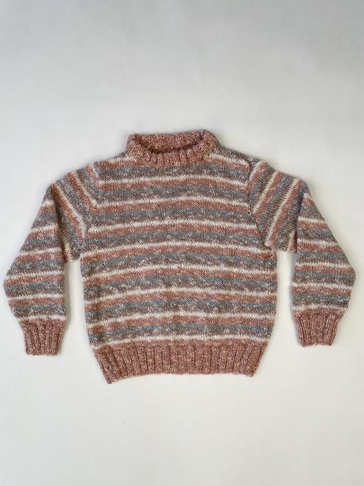 1980's Hand-Knit Kiddo Sweater