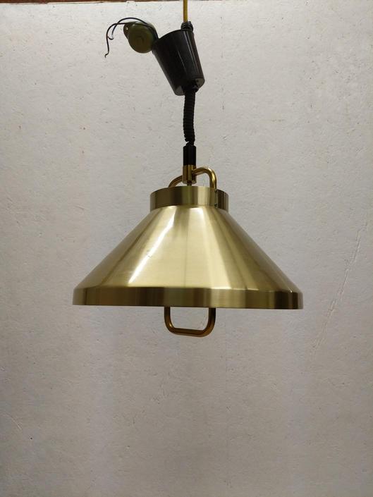Vintage Danish Modern Fog & Morup 'Tarok' Pendant Lamp by FarOutFindsNYC