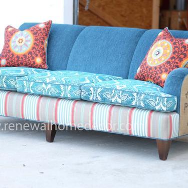 Balance on custom sofa by ReNewalHomeDecor