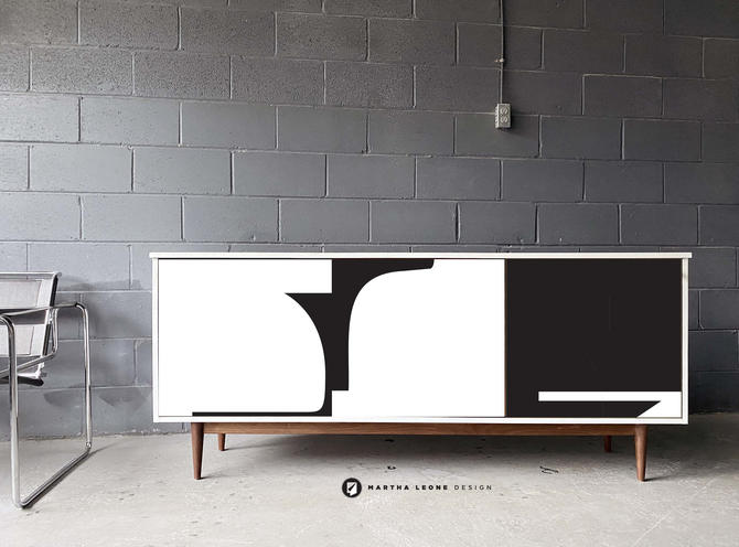 New Hand-Crafted Walnut Credenza by MarthaLeoneDesign
