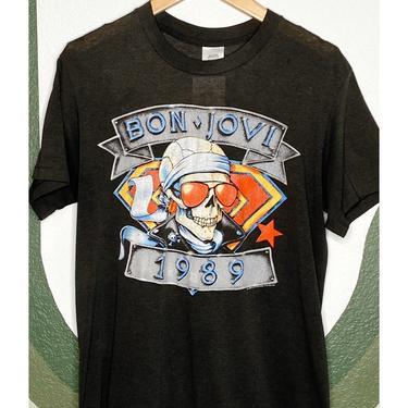1989 Bon Jovi Is Back Tee