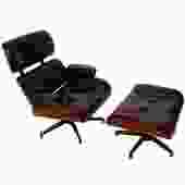 Eames Style Lounge Chair w/ Ottoman