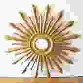 Mid Century Modern Sunburst Mirror