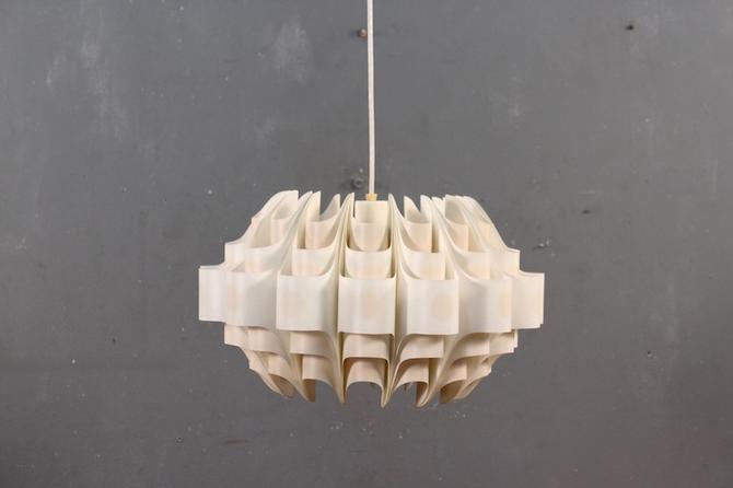 1960s PVC Pendant Chandelier
