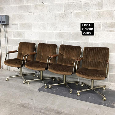 LOCAL PICKUP ONLY ———— Vintage Rolling Chair ———— 4 Units on Hand by RetrospectVintage215