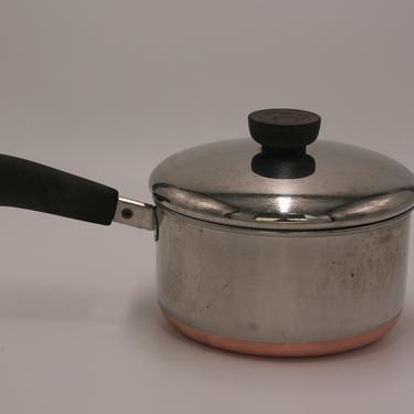 vintage revere ware 1.5 quart saucepan/copper bottom/1985/clinton illinois by suesuegonzalas