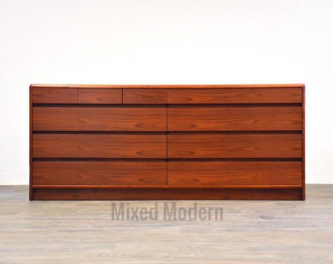 Danish Modern Rosewood Dresser by mixedmodern1