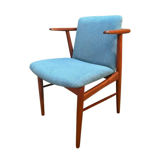 Vintage Danish Mid Century Modern Teak Accent Chair by Hans Olsen by AymerickModern