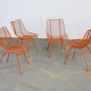 Set of 4 Mid Century Danish Modern Woodard Sculptura Side Chairs by AnnexMarketplace