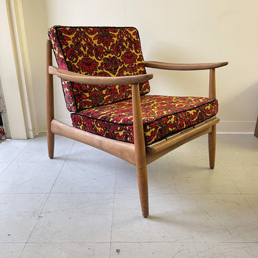 Shipping Not Included - Vintage Mid Century Modern Danish Sofa Lounge Chair by BigWhaleConsignment