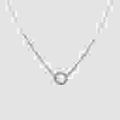 Petite Compass Diamond Necklace