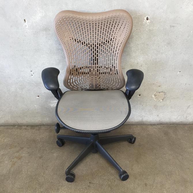 Herman Miller Mirra Grey & Beige Office Chair