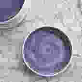 Handmade Glazed ceramic Lavender Dinner Plate