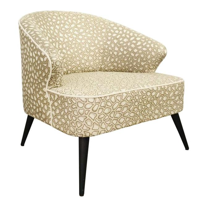 Mid-Century Modern Inspired Caracole Signature Melanie Lounge Chair