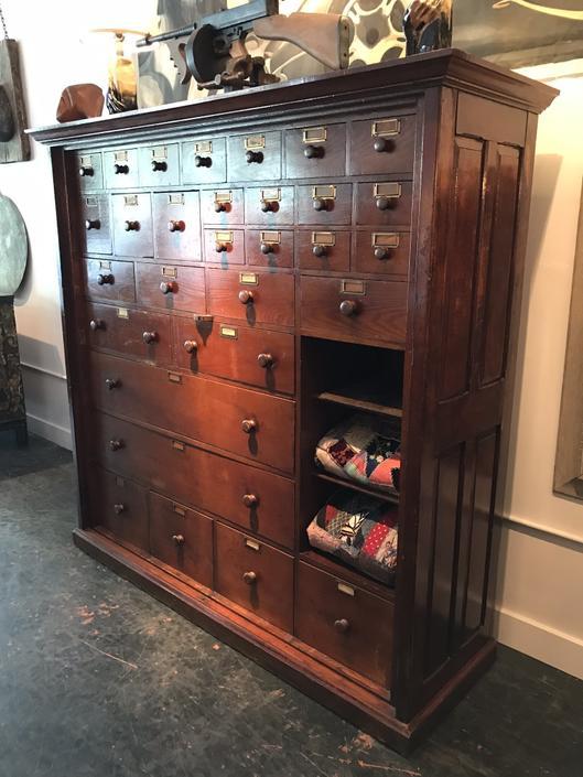 Hardware Store Cabinet