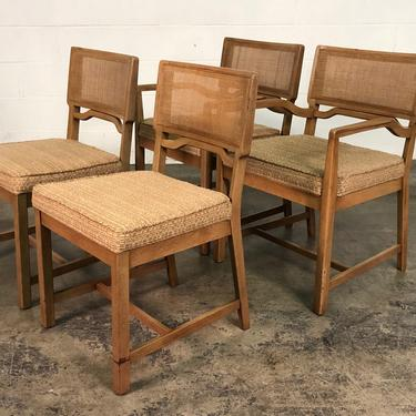 Mid-Century Dining Chair <> Set Of 4 <> By American of Martinsville by modernmidcenturyfurn