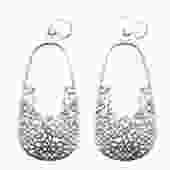 FS211E - tile design earrings