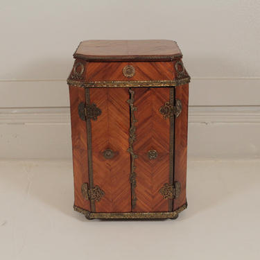 French Diminutive Chest with Drawers