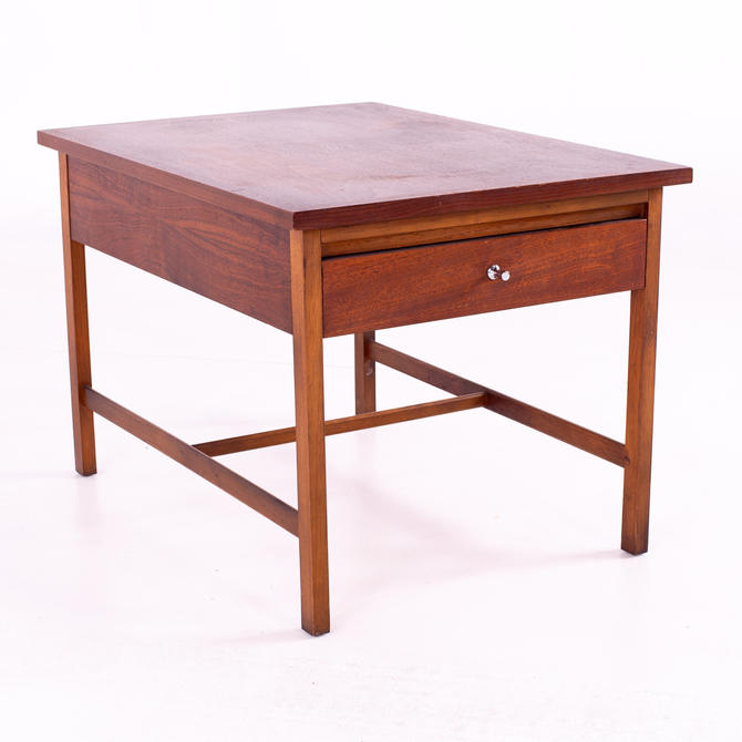 Paul McCobb for Lane Delineator Mid Century Walnut Side End Table - mcm by ModernHill
