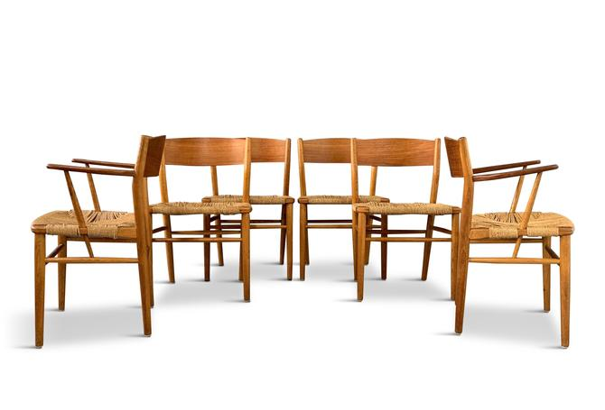 Børge Mogensen Dining Chairs by Søborg Møbelfabrik in Denmark Midcentury