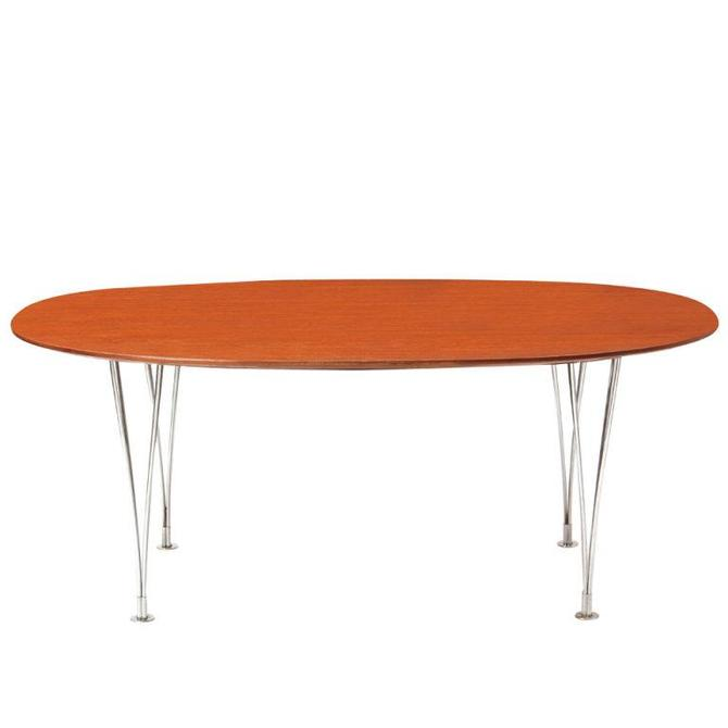 Early 'Super Ellipse' Dining Table