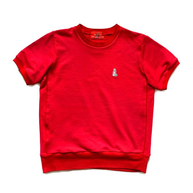 Short Sleeve Warm Up Tee (Red)
