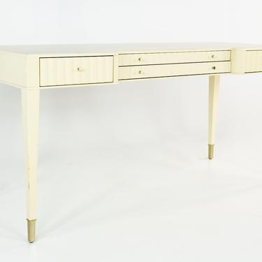 Barbara Barry for Baker Contemporary White Lacquer Desk by ModernHill
