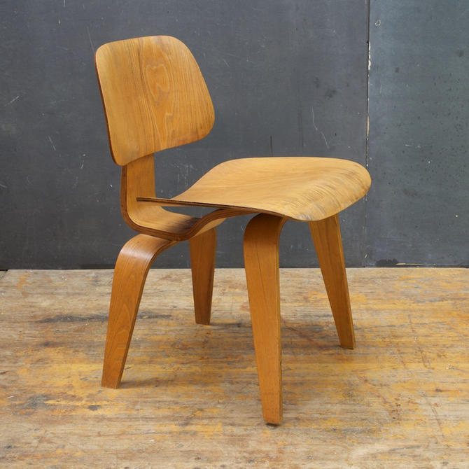 Superb 1948 Charles Ray Eames Evans Plywood Herman Miller Dcw Pabps2019 Chair Design Images Pabps2019Com