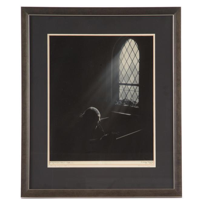 """A. Aubrey Bodine. """"Hear My Prayer, O Lord"""""""