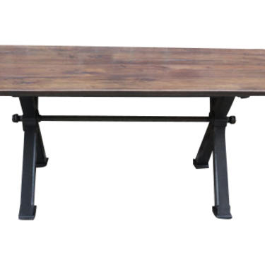 Custom Walnut Mill Table - In Stock or can be ordered in any size.