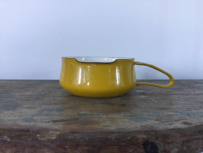 Mid Century Dansk Yellow Kobenstyle Butter Warmer Jen Quistgaard by ModandOzzie