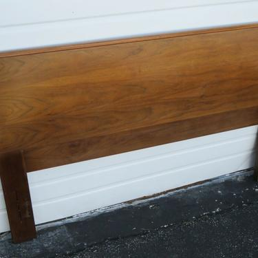 Mid Century Modern Full or Queen Size Headboard by American of Martinsville 2310