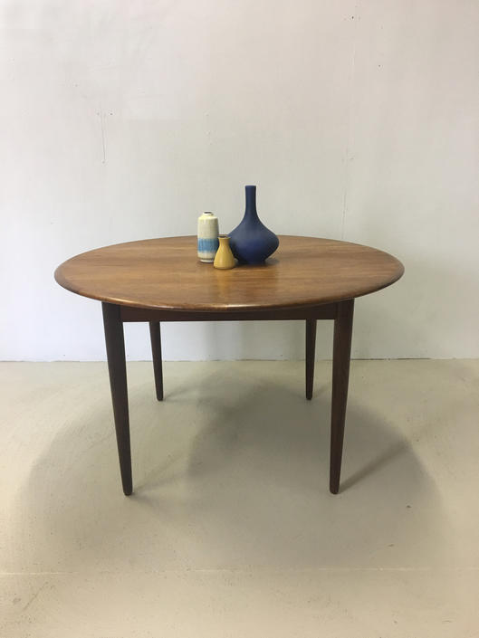 Teak Dining Table by Arne Vodder for Sibast by retrocraftdesign