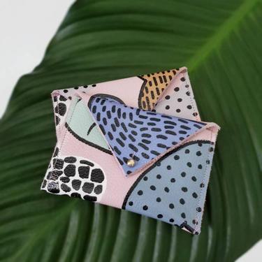 Leather Envelope Wallet - Business Card Holder - Credit Card Holder - Suri by rkitekt