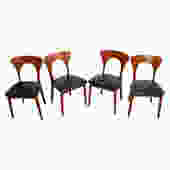 Set of 4 Koefoed Hornslet Danish Modern Teak Dining Chairs