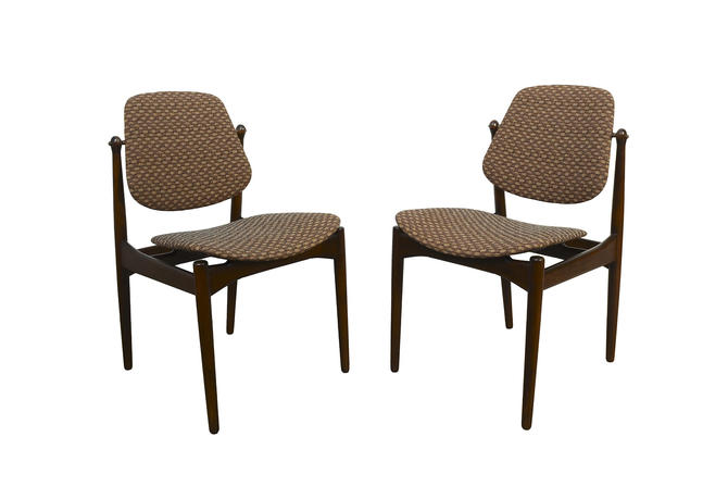 Arne Vodder for France and Daverkosen France & Son Dining Chairs by HearthsideHome