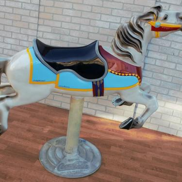 Completely Refurbished Rare Collectable Coca-Cola Carousel Horse