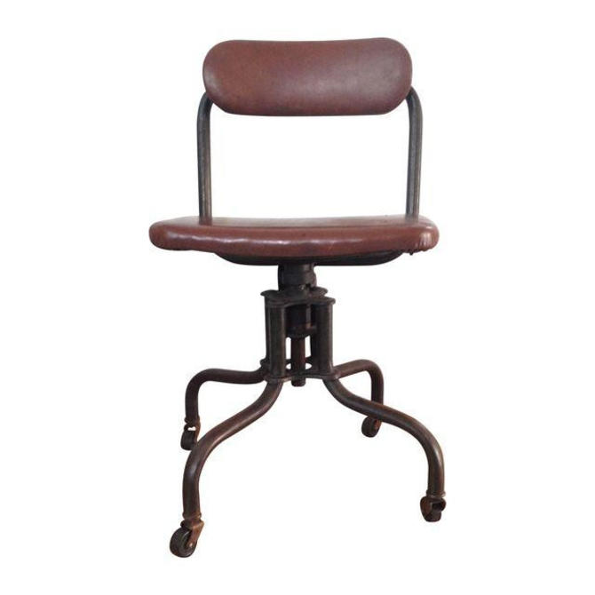 Industrial Age Toledo Style Typing Chair