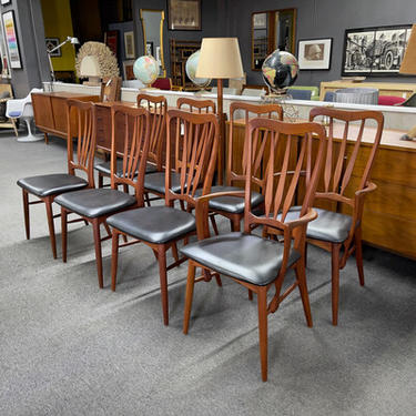 Set of 8 Ingrid Dining Chairs by Koefoed Hornslet