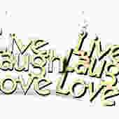 Live Laugh Love Laser Cut Wood Earrings by GreenTreeJewelry