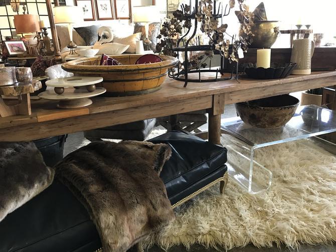 SOLD - Antique  Farm Table