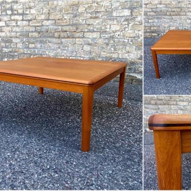 Danish Teak + Rosewood Coffee Table