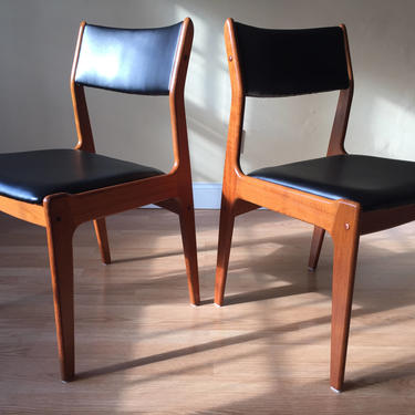 Set of Eight Scandinavian Woodworks Teak Dining Chairs PRIVATE LISTING by ASISisNOTgoodENOUGH