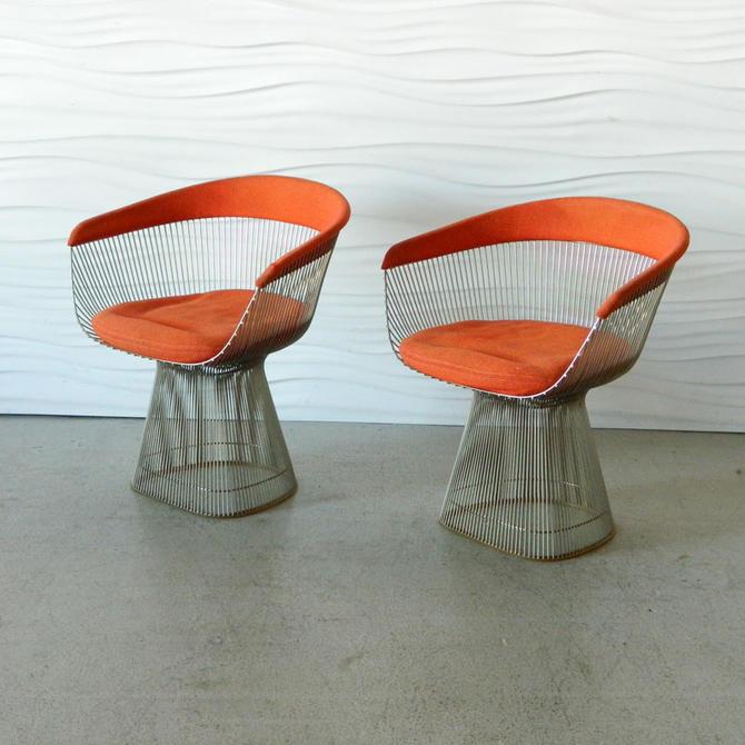 HA-C7590A-B Warren Platner Chairs
